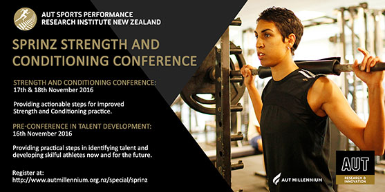 Strength and Conditioning Conference Flier