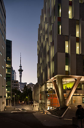 AUT's WG Building in the heart of Auckland